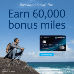 Barclays Arrival Plus Card Bonus