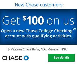 Chase College Checking Bonus