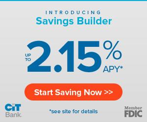 CIT Bank Savings Builder Account Offer 2