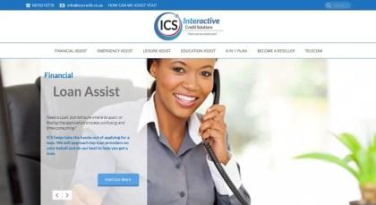 ICS Credit: Interactive Credit Solutions Website