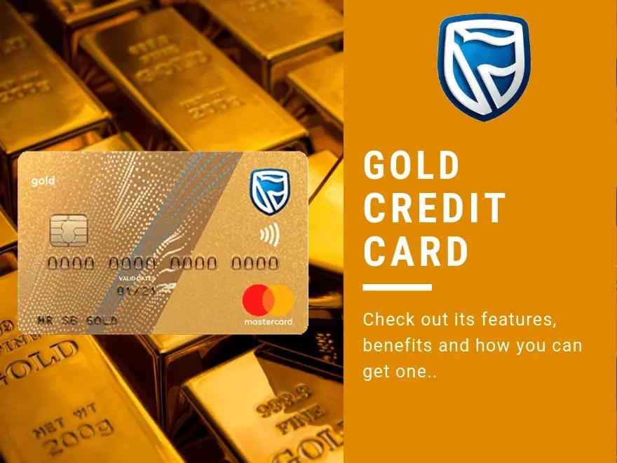 Standard Bank Gold Credit Card