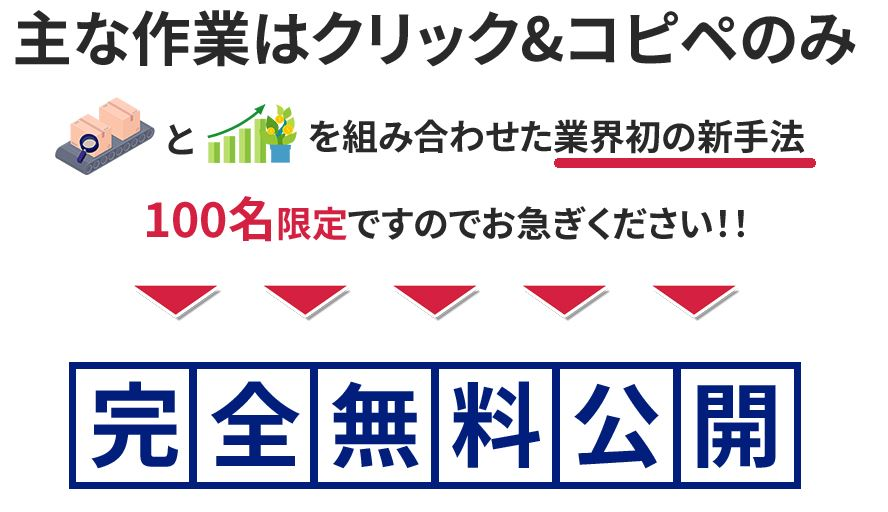物販×投資 ランディングページ