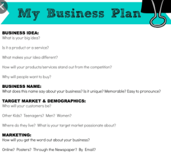 How to Create a Simple Business Plan?