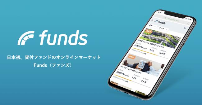 貸付ファンドのオンラインマーケット「Funds(ファンズ)」、募集開始16分で8,320万円の満額申込み達成