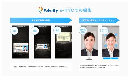 Crezit株式会社、オンライン本人確認サービス「Polarify eKYC」導入のお知らせ