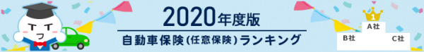 【NTTイフ】自動車保険おすすめ人気ランキング2020年度総合結果発表