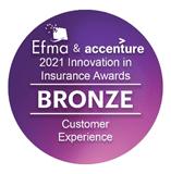 "Efma主催""Innovation in Insurance Awards""を2年連続で受賞"