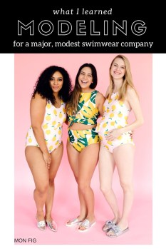 What I Learned Modeling for a Major, Modest Swimwear Company-Lime-Ricki