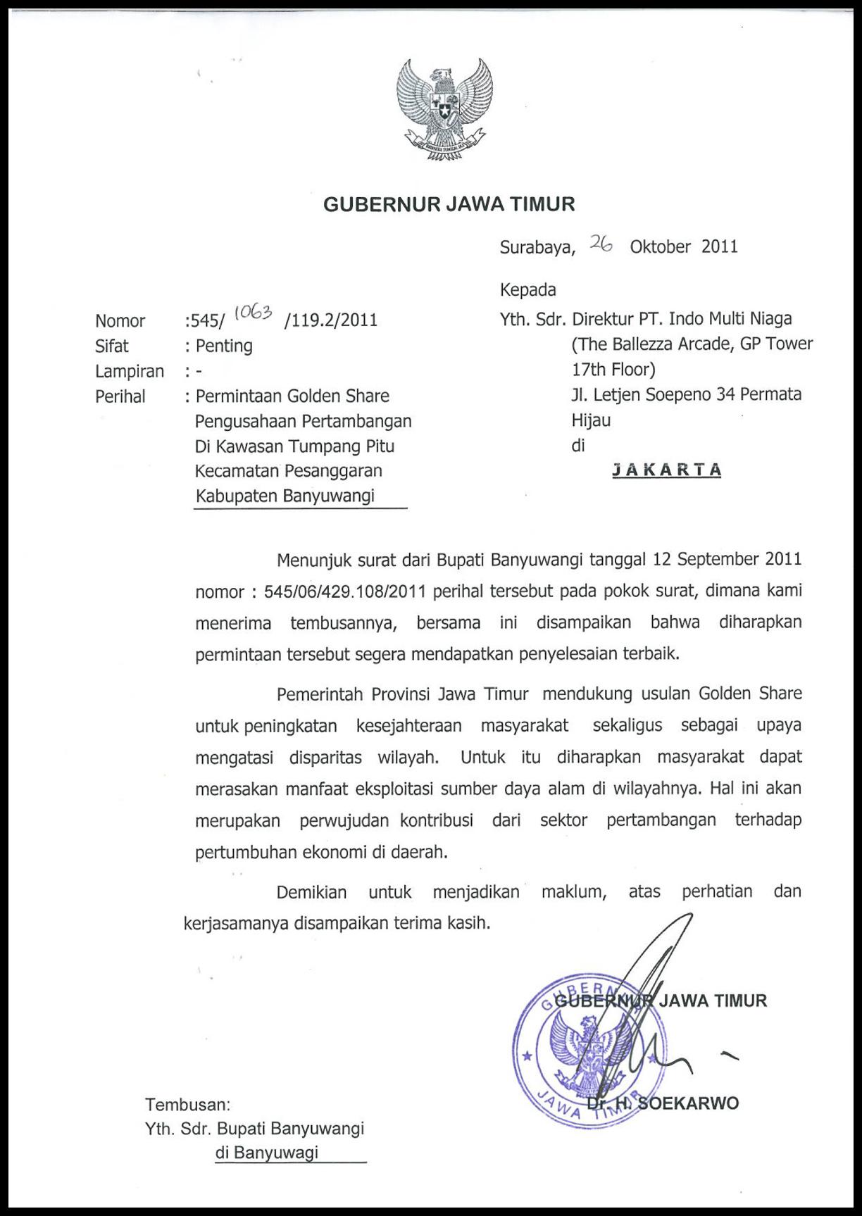 T7_surat Gubernur Jatim dukungan golden share_2011-10-26