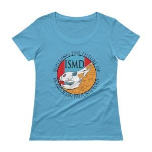 ISMD Logo Ladies' Scoopneck Tee