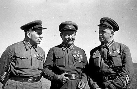 The Soviet Army in Mongolia