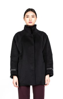 Black Winter Coat Women 3