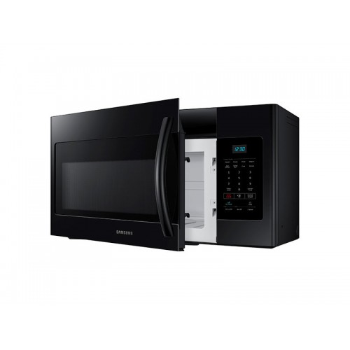 samsung 1 6 cu ft over the range microwave black