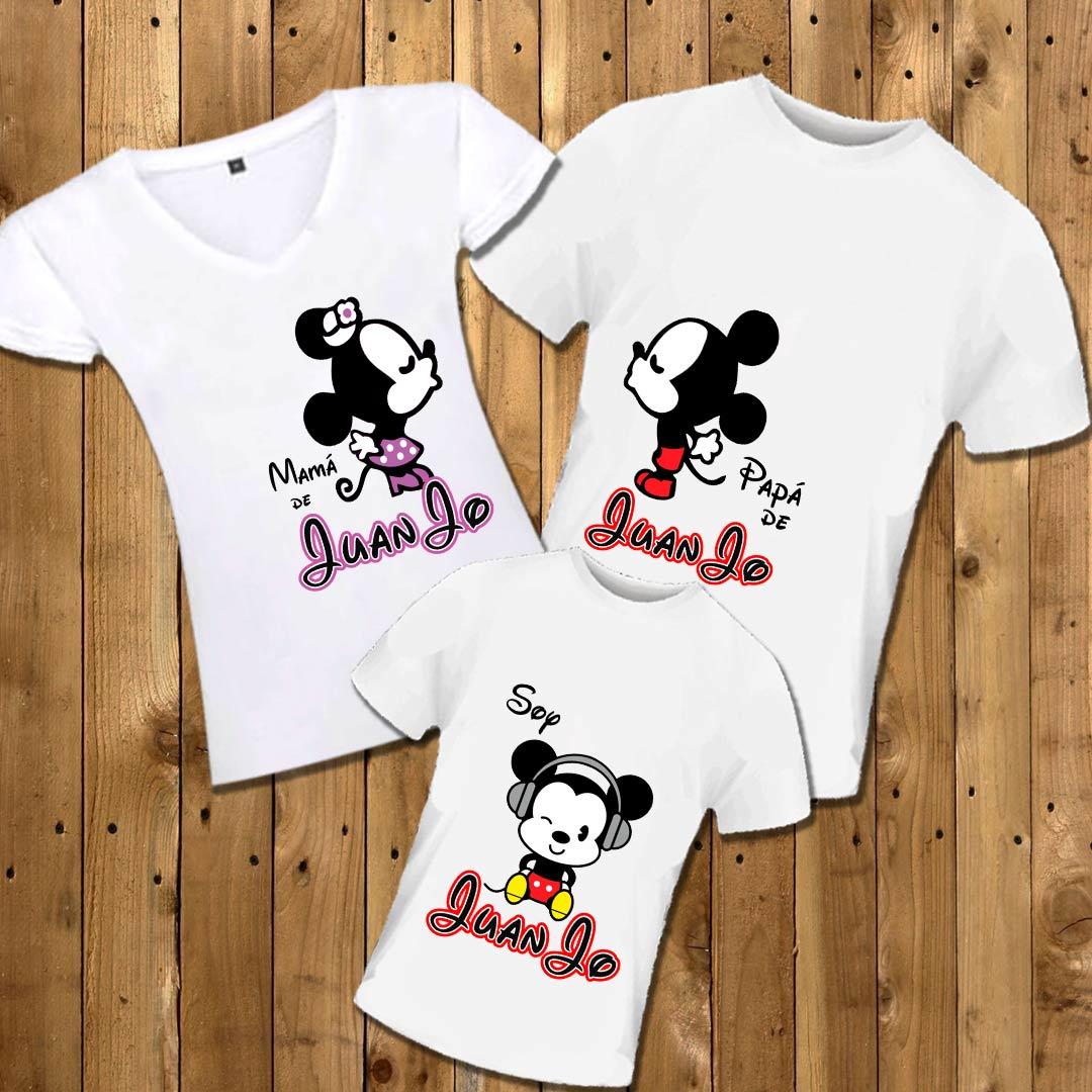 estilo popular lo último online para la venta Camisetas personalizadas Familia Mickey (Niño) | Mongoose Boutique