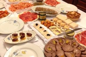 スペインのクリスマスの食事