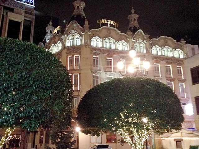 アルバセテのグランホテル