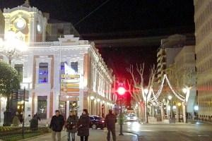 アルバセテのクリスマスイルミネーション
