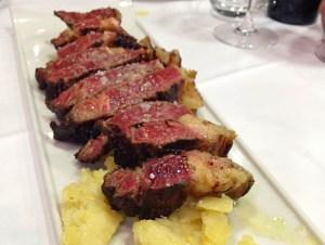 アルバセテのアサドールコンセプシオンの肉