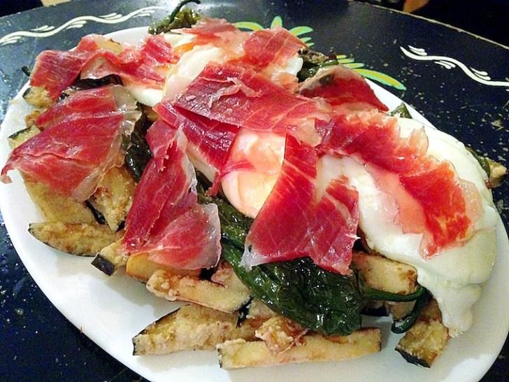 セビーリャのフェリア2016のカセタの食事