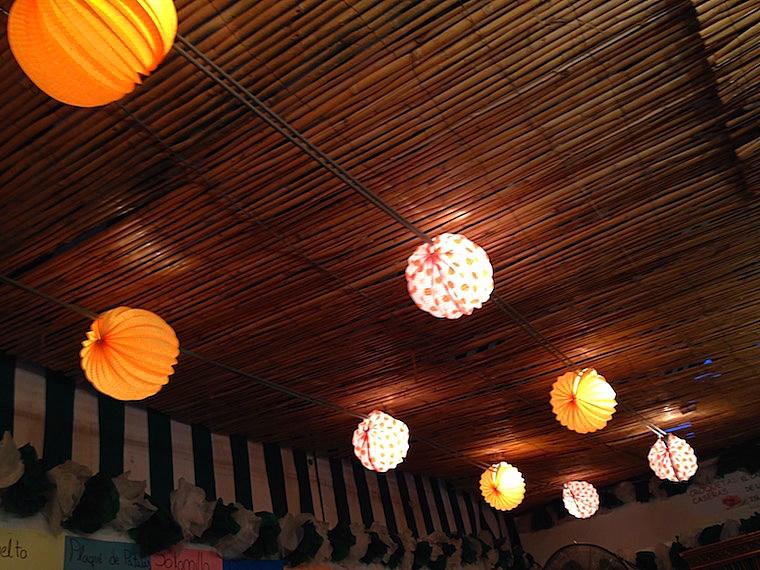 セビーリャのフェリア2016のカセタの提灯