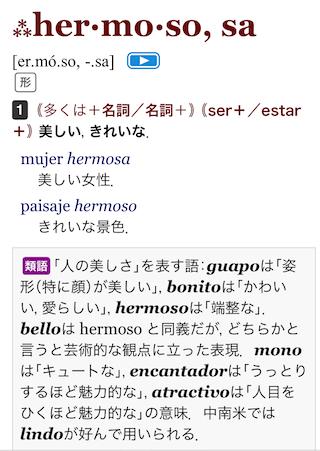 スペイン語辞書アプリの同義語