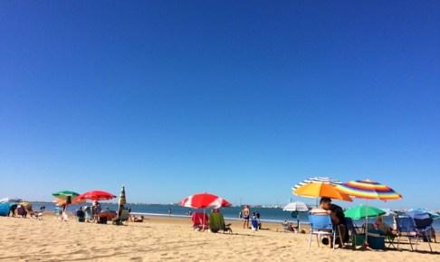 バルデラグラナのビーチ
