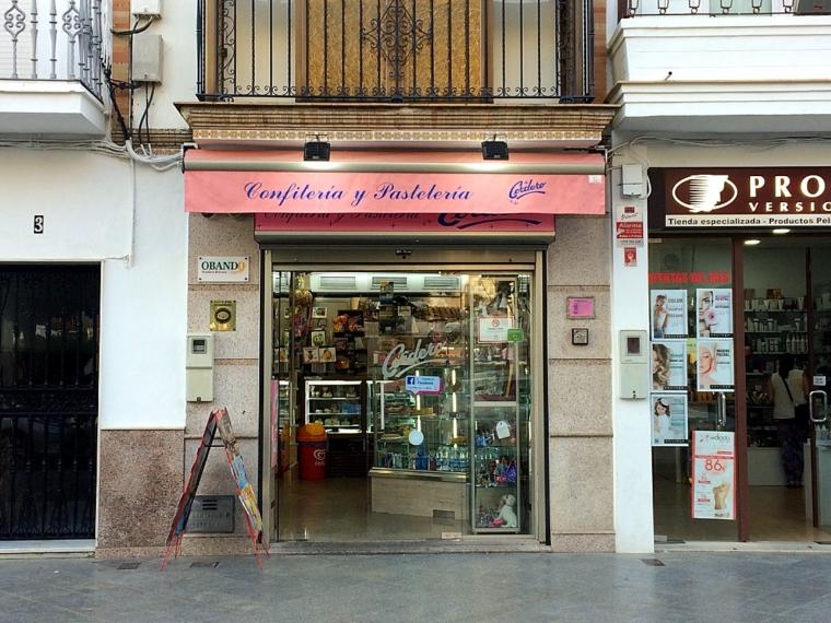 ウトレラのモスタチョンが売られているお菓子屋