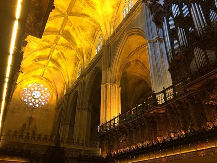 セビリア大聖堂のゴシック様式