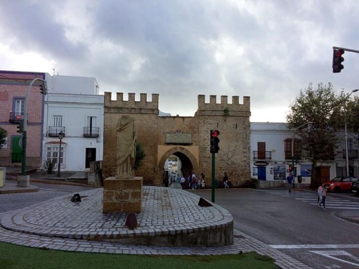 タリファの旧市街地入り口