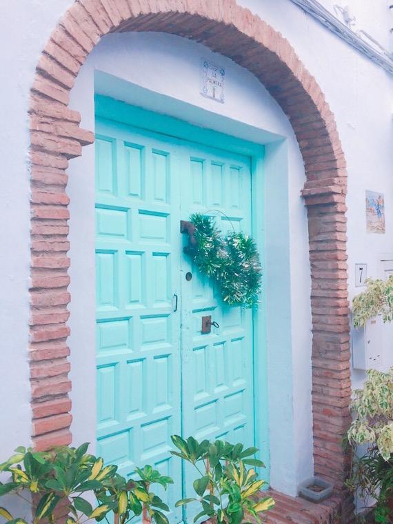 スペインのフリヒリアナのドア