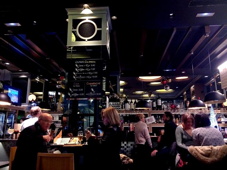 グラナダのレストランTintaFinaRestaurante