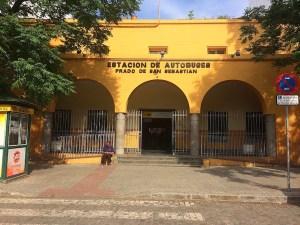 プラド・デ・サン・セバスティアンバスターミナル