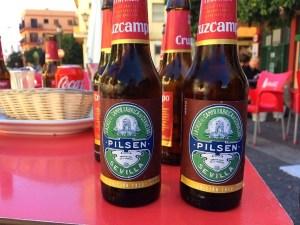 スペインのビールクルスカンポ