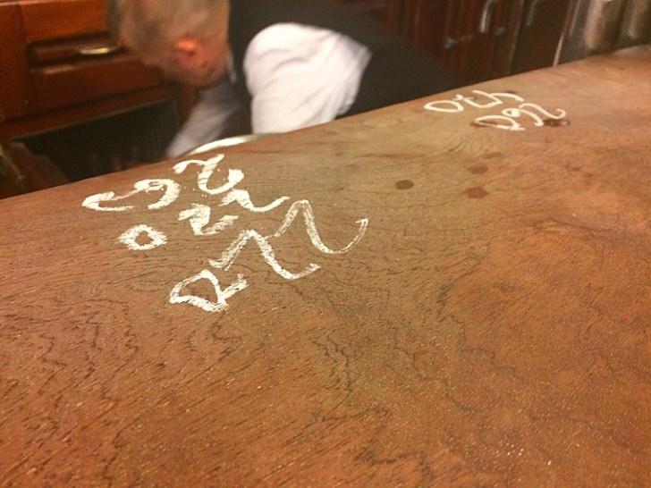セビリア最古のバル「リンコンシージョ」のお会計