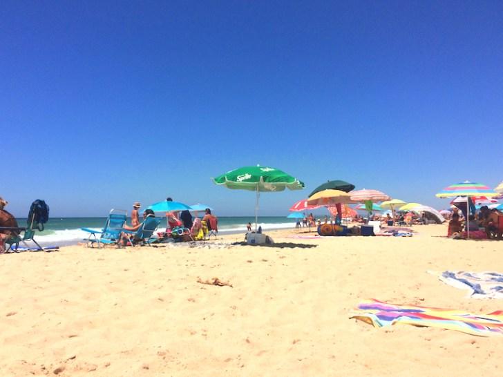 スペインのエル・パルマルのビーチ
