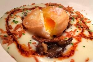 セビリアのバル巡り『Antojo』の半熟卵の天ぷらと超うまスイーツ