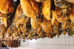 スペイン生ハムの町ハブーゴで工場見学とイベリコ豚の生ハム三昧!