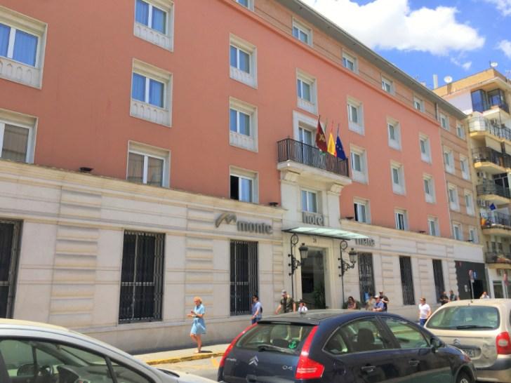 セビリアのホテル「モンテ トリアナ」の外観
