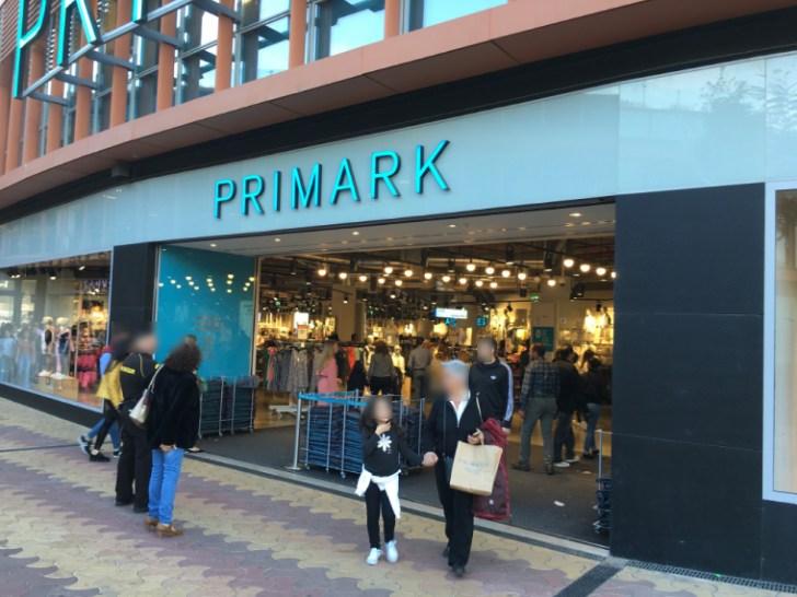 スペインのファストファションブランド「PRIMARK」