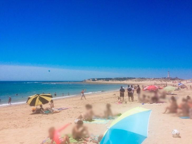 アンダルシアのロス・カーニョ・デ・メカのビーチ
