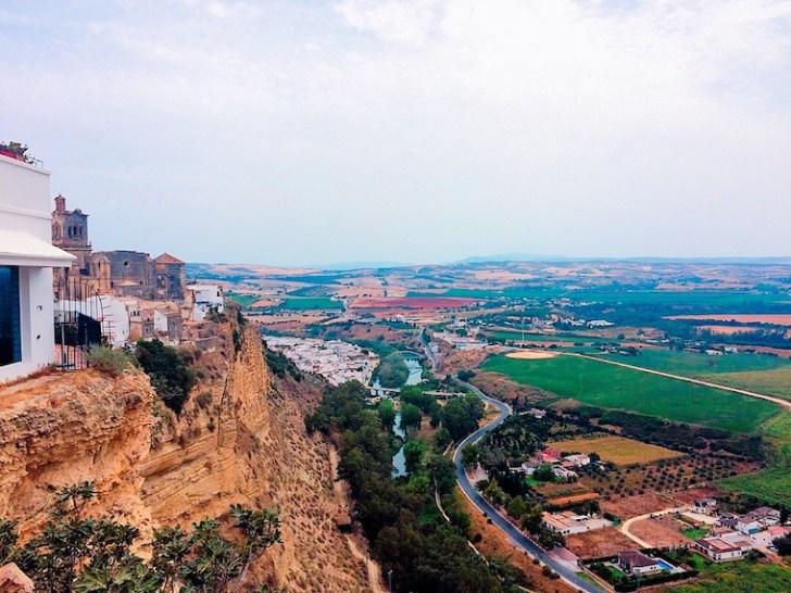 アルコス・デ・ラ・フロンテーラの展望台からの景色