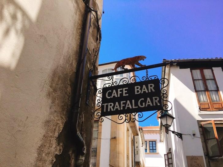 サンティアゴデコンポステーラのバル「TRAFALGAR」
