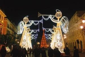 セビリアのクリスマスイルミネーション2019☆