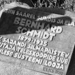 Bernhard Schmidti mälestustahvel Naissarel