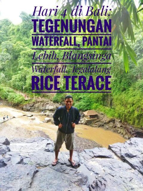 Pewe di Blangsinga Waterfall.