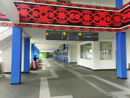 Bagian Dalam Gedung Terminal Sei Ambawang