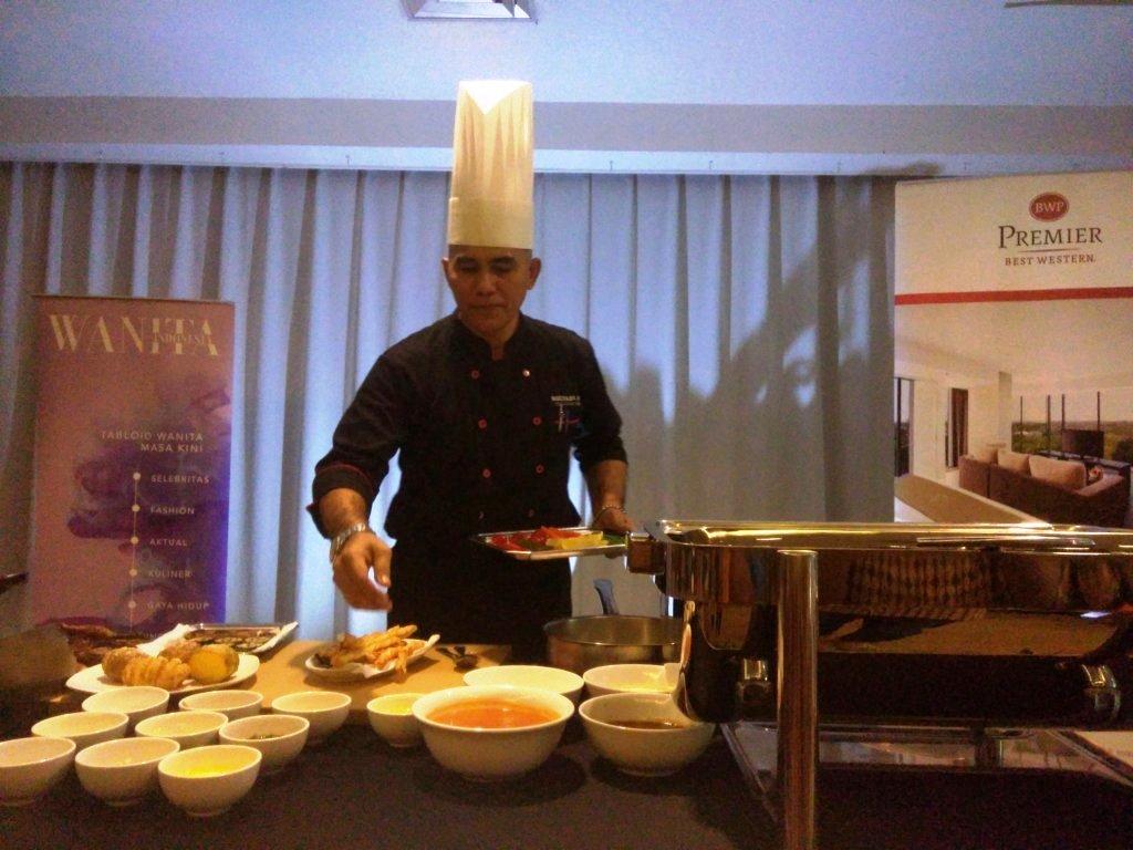 Chef Mulyadi, Chef Hotel Best Western Premier The Hive