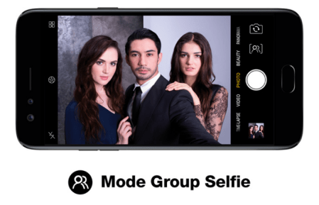 Mode Group Selfie OPPO F3 Reza Phone Limited Edition