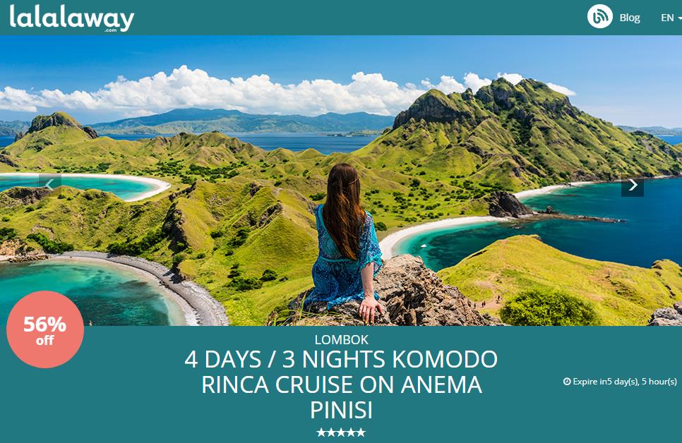 pesan hotel dan paket liburan ke Lombok