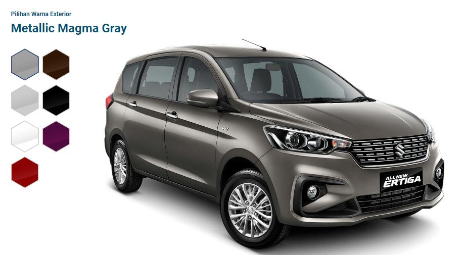 Pilihan Warna Suzuki All New ERTIGA 2018 Mobil Keluarga Indonesia